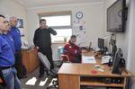 Prezes MOPR Zbigniew Kurowicki omówił zasady działania systemu ratowniczego na Szlaku Wielkich Jezior Mazurskich