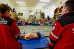Pszedszkolaki chętnie uczestniczyły w zajęciach z udzielania pierwszej pomocy przedmedycznej