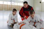 Karatecy uczyli się pod czujnym okiem Grzegorza Achremczyka